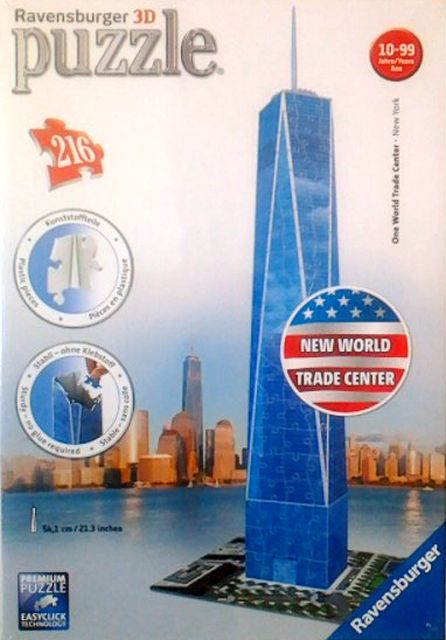 3D puzzle Trade Center