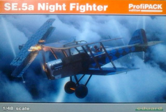 SE.5a Night Fighter model letadla