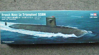 French Navy Le Triomphant class SSBN - ponorka